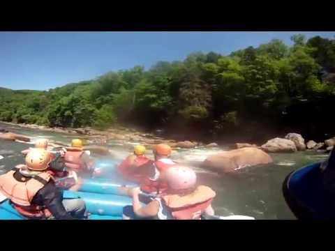 Maze rapid on the Cheat Canyon 5-25-2014