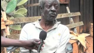 Meet Mzee Kamande, who was forced to live in the forest after family squabbles