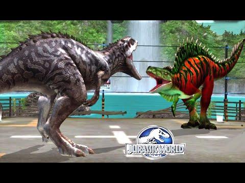 Jurassic World™ The Game: Max Level Fantasy Dinos Fight