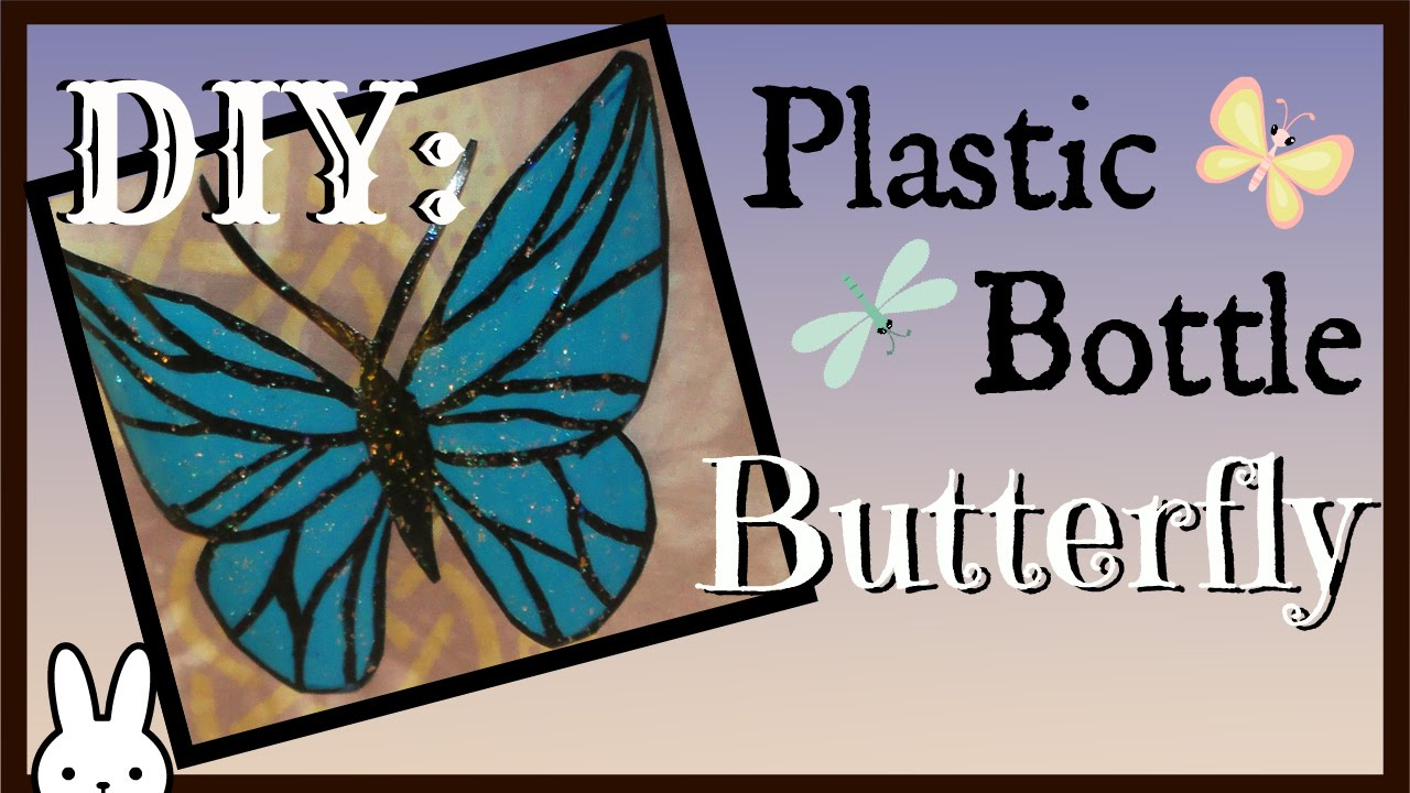 Butterflies from a plastic bottle with their own hands. Butterfly Patterns 94