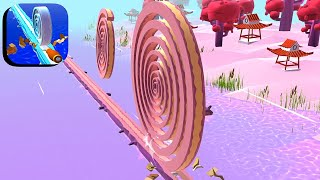 Spiral Roll - All Levels Gameplay Android,ios #101 screenshot 3