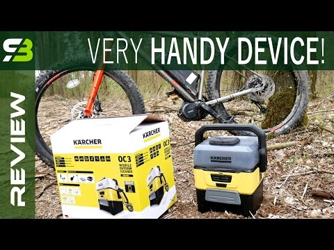 Not Only For Bicycle - Karcher OC3 Mobile Washer In Test.