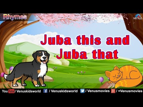 Juba This And Juba That - Popular Nursery Rhyme || Animated Rhymes For Kids
