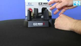 Kingwin - EZ-Dock 3 - USB 3.0 HDD & SSD Dock and Duplicator - Unboxing - Poc Network