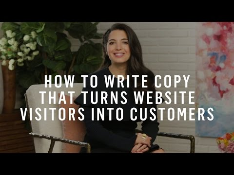 Marketing Strategy: How To Write Copy That Turns Website Visitors Into Customers