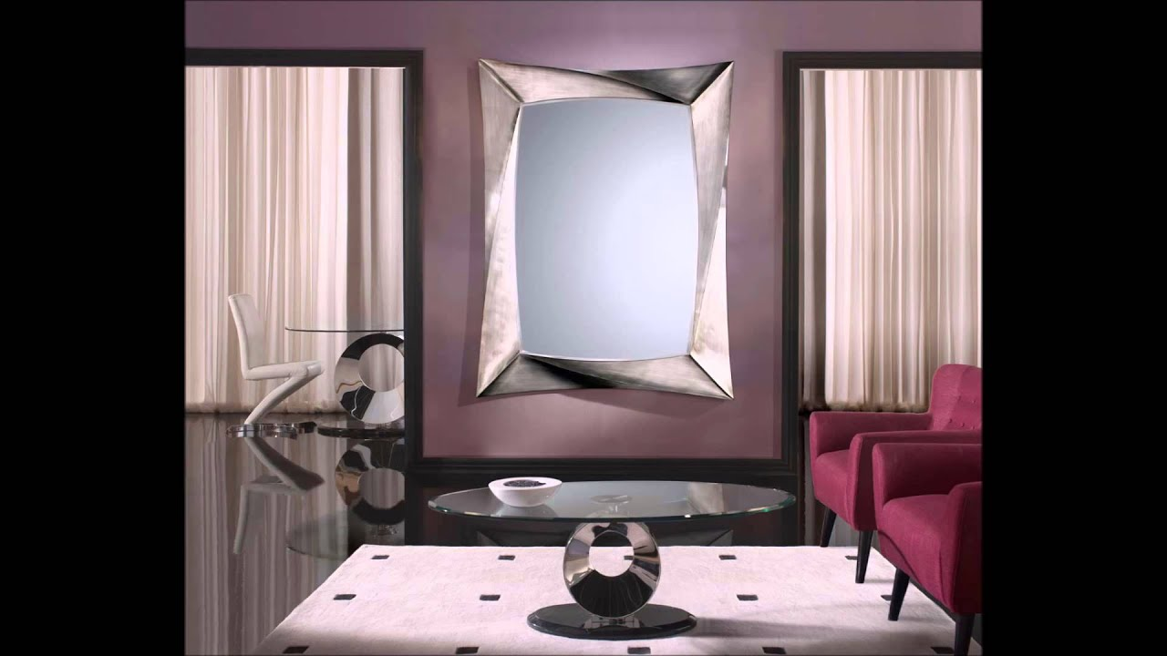 espejos modernos para salon
