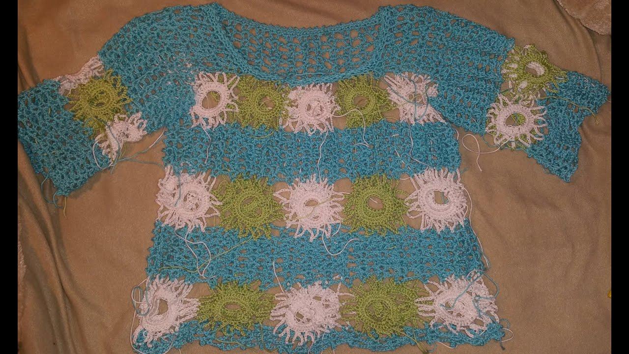 Sommershirt Claudia Filli Crochet Granny Häkeln Mit Yve Youtube