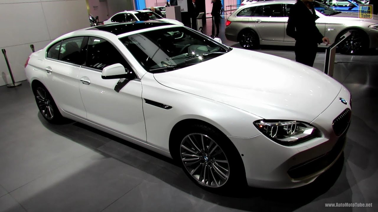 2017 Bmw 650i Xdrive Gran Coupe Exterior And Interior Walkaround Paris Auto Show