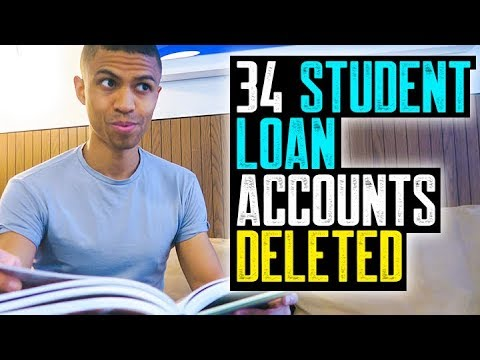 34 STUDENT LOAN ACCOUNTS DELETED || NON RESPONSE METHOD SECR