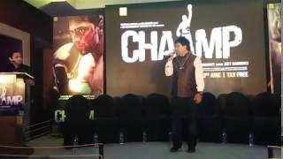 Chaamp Music Launch - Dev The Megastar*