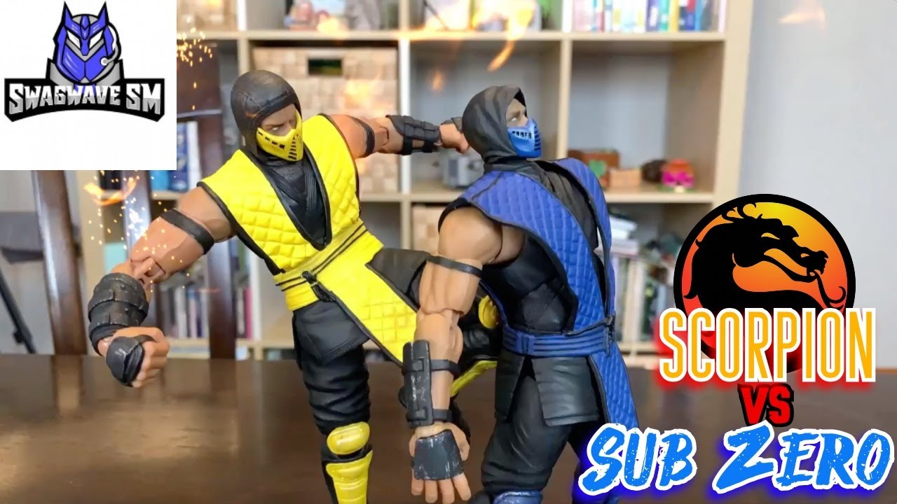 Download Mortal Kombat (SCORPION VS SUB ZERO) Stop Motion Action Video