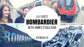 Lily meets James, graduate engineer at Bombardier