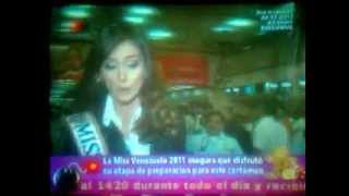 La Bomba - Partida de Irene Esser Miss Vzla 2011 al Miss Universo 2012
