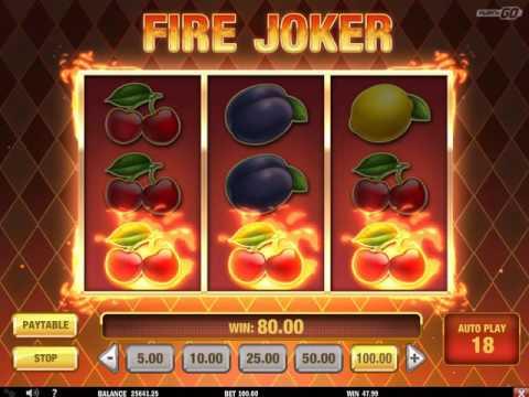 Обзор игрового автомата Fire Joker (Play'N GO)