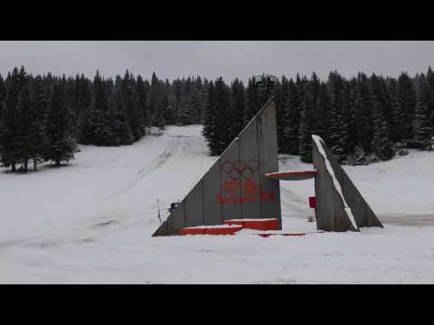 Forgotten Sarajevo Ski Jumps Winter Olympics 1984