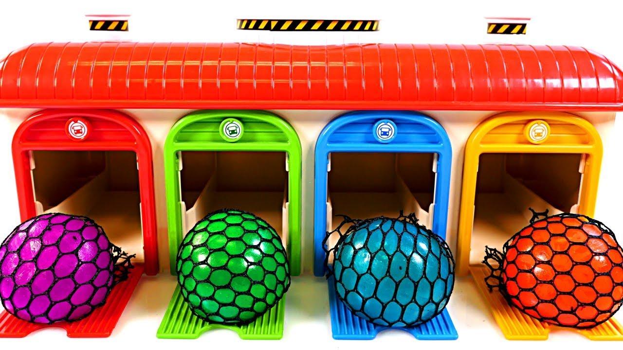 Squishy En Espanol : Mejores Videos Para Ninos Aprendiendo Colores - Learn Colors Squishy Balls Fun Videos for Kids ...