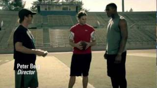Under Armour Footsteps - Tom Brady & Cam Newton Meet