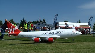 Virgin Boeing 747-400 Gigantic R/C 4x turbine Model Airliner by Adi Pitz 2015 3.Airlinertreffen