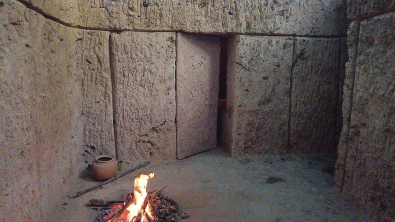 Girl Build The Most Secret Underground House Shelter