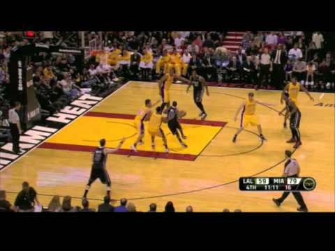 Eddy Curry - 6 points and dunk in Heat Debut (1-19-12)