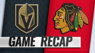 Golden Knights rally late, top Blackhawks in OT