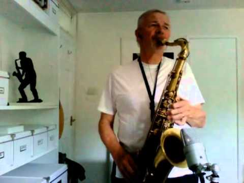 Don't Take your Love from Me on Tenor Sax