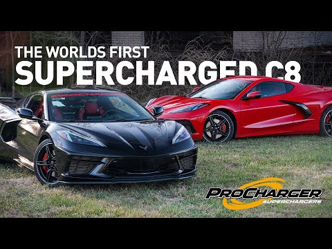 WORLDS FIRST SUPERCHARGED C8 CORVETTE BY PROCHARGER - TEASER!