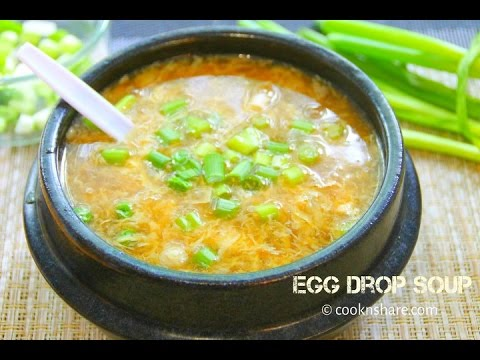 How to make egg drop soup thicker