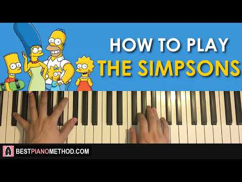 HOW TO PLAY - The Simpsons Theme (Piano Tutorial Lesson)