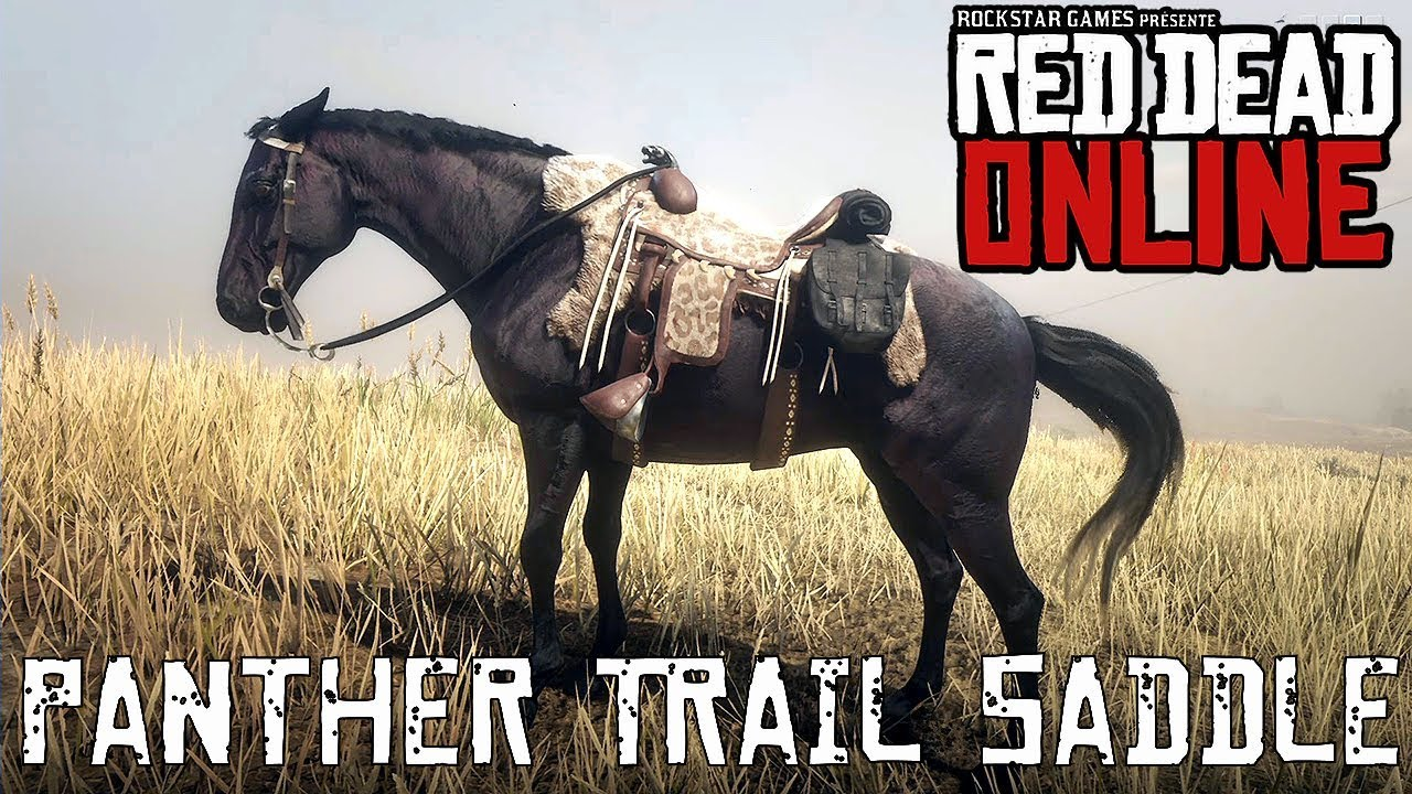 Red Dead Online - Special Saddles - Panther Trail Saddle