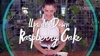 Upside Down Raspberry Cake Recipe