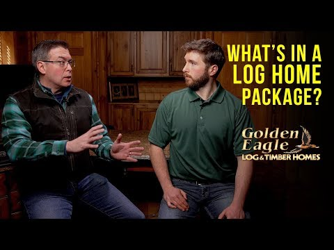 What's In A Log Home Package? Q&A With Golden Eagle Log And Timber Homes