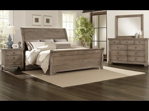 Whiskey Barrel Bedroom Collection By All American Furniture Youtube