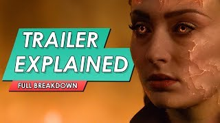 X-Men: Dark Phoenix: Official Trailer 2 Explained | Everything You Missed
