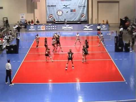 2010 16O Nebraska Jr v Skyline (Finals) Set 3