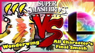 Can Banjo-Kazooie's Wonderwing beat all Final Smash? - Super Smash Bros Ultimate