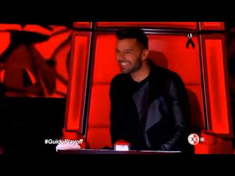 The Voice World Best 2015 - Winner's The Voice Mexico - Guido Rochin - Deja que salga la Luna La Voz