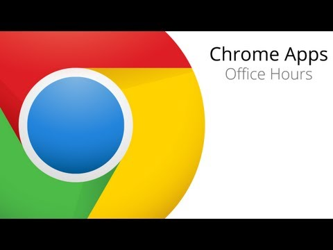 Chrome Apps Office Hours: Synchronized File System
