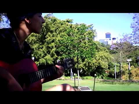 Bella. - Stand by me (covered in Brisbane, Australia) @Roma Street Parkland