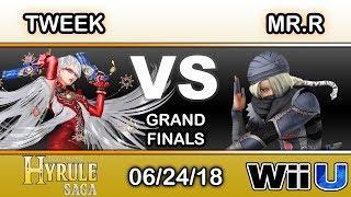 Hyrule Saga - Tweek (Bayonetta) Vs. BC | Mr.R (Sheik) Grand Finals - Smash 4