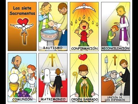 Los sacramentos de la Iglesia Católica - YouTube