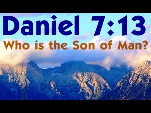 DANIEL 7:13 SON of MAN (Reply 2 one for israel messianic jews for jesus beth yeshua reviveisraeltv)
