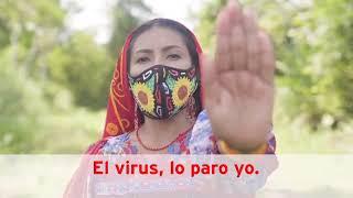 """""""El Virus, lo paro yo"""" campaña con talentos Ivotalents en acción"""