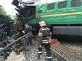 Украина: Столкновение поездов возле Каменец-Подольского