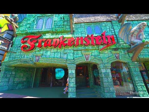 [HD] Frankenstein Haunted House Walk-through - Clifton Hill, Niagara Falls