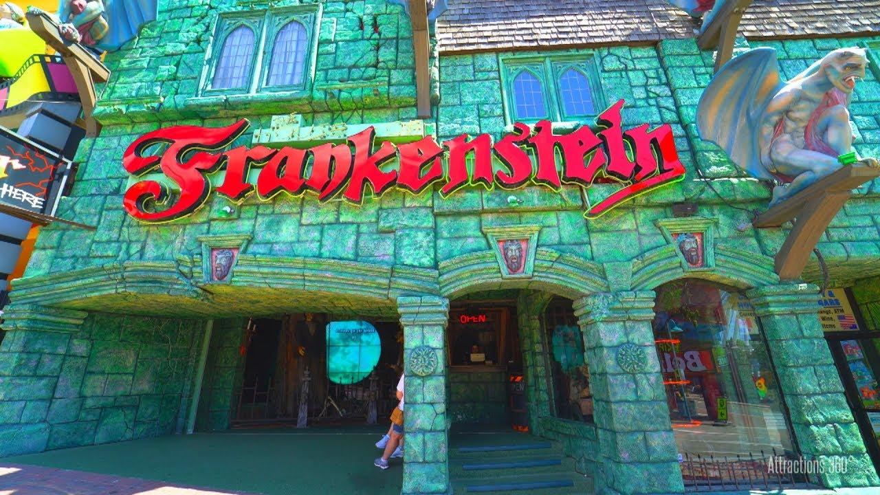 FRANKENSTEIN Coaster 1