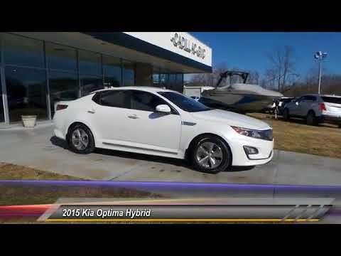 2015 Kia Optima Hybrid Used U2022 Rusty Wallace Auto U2022 Morristown, TN U2022  423 586 1441 Live 11298A