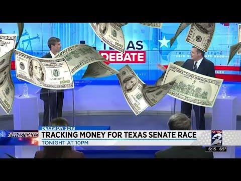 Tracking money for Texas Senate race