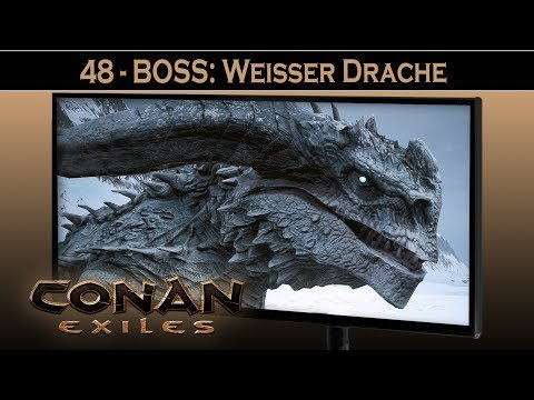 Conan Exiles ⚔ #48 BOSS: Weißer Drache | Conan Exiles German Gameplay Deutsch