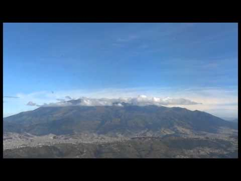 Quito [Unesco world heritage site] Aerial View -Aerial Video